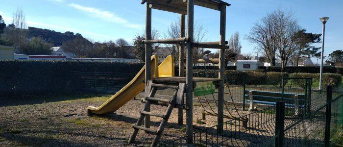 Une aire de jeux pour enfants !