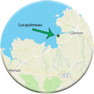 Localisation géographique du camping