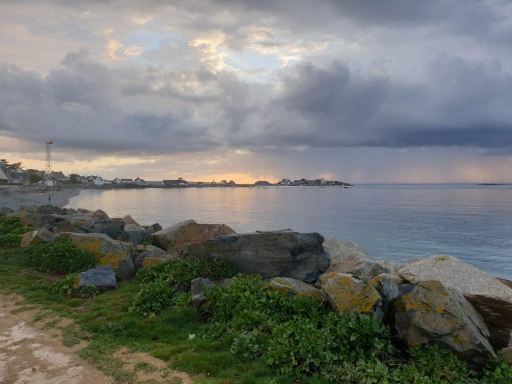 Superbe vue de la mer en face du camping !