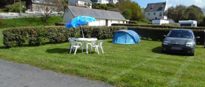 emplacements de camping à Locquemeau